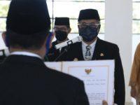 Abustan Jadi Sekretaris Daerah (Sekda) Defenitif Barru