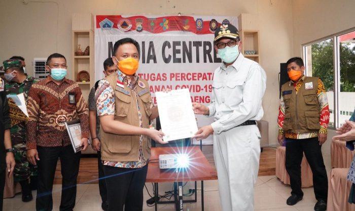 Gubernur Sulsel, HM Nurdin Abdullah melakukan kunjungan kerja ke Kabupaten Bantaeng