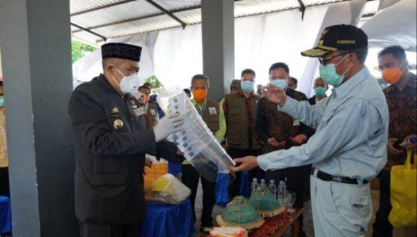Gubernur Sulawesi Selatan HM Nurdin Abdullah melakukan kunjungan kerja di Kabupaten Bulukumba
