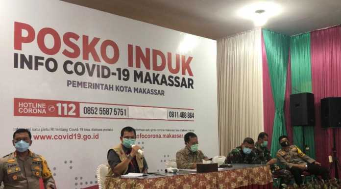 Rapat evaluasi PSBB dipimpin Pj Wali Kota Makassar, Iqbal Suhaeb