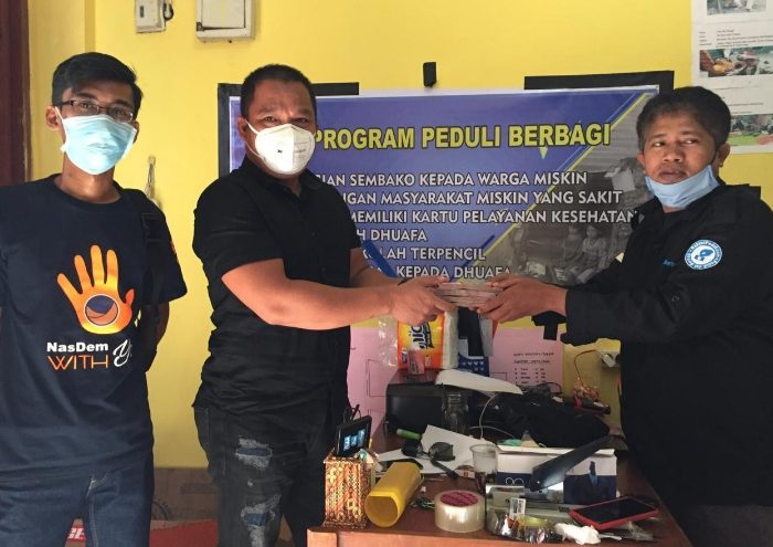 Anggota DPRD Sulsel, H Irwan Sumbangkan Gaji untuk Masyarakat Terdampak Covid-19