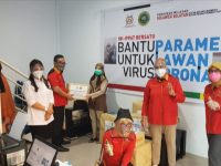 INI-IPPAT Sulsel Bersatu Bantu APD untuk Tenaga Medis
