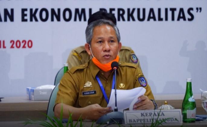 Kepala Bappelitbangda Sulsel, Prof Yusran Yusuf.
