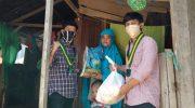 SEMMI Sulsel Bagi-bagi Paket Sembako untuk Warga Terdampak Covid-19