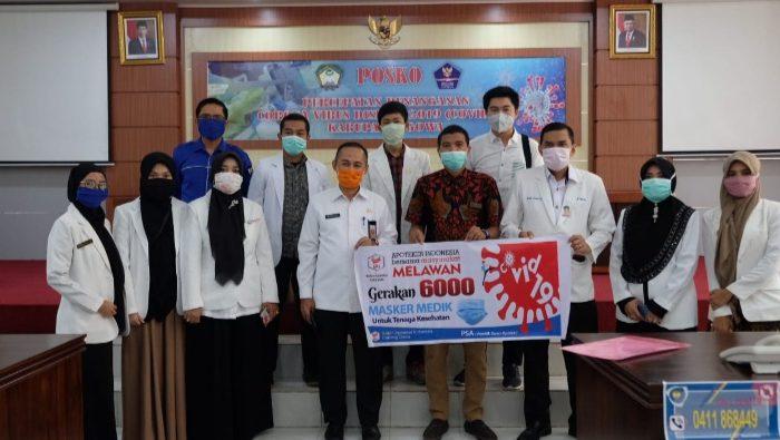 Pemkab Gowa Terima Bantuan Penanganan Covid-19 Ikatan Apoteker Indonesia