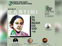 Gelar Diskusi Daring, Kohati Gowa Raya Bahas Spirit Kartini di Tengah Covid-19