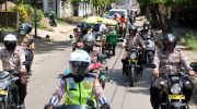 Distribusi 50.000 Paket Sembako di Gowa Dikawal Ketat Personil Gabungan