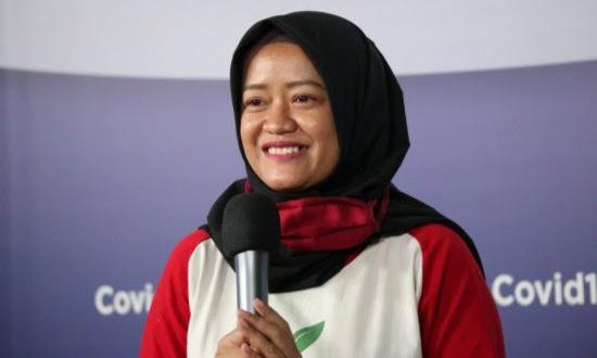 Pegiat Indonesia Berkebun, Winartania. (Dok. BNPB).