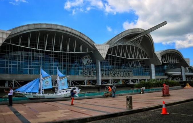 Bandara Internasional Sultan Hasanuddin. (Ist)