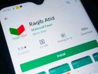 Aplikasi Raqib Atid di PlayStore.