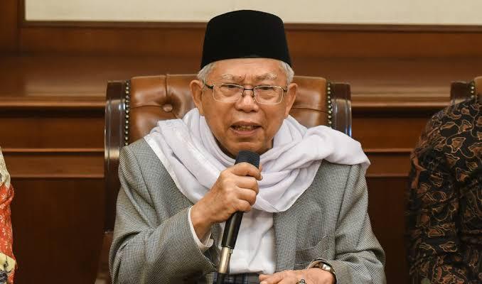 Wakil Presiden, Ma'ruf Amin. (Ist)