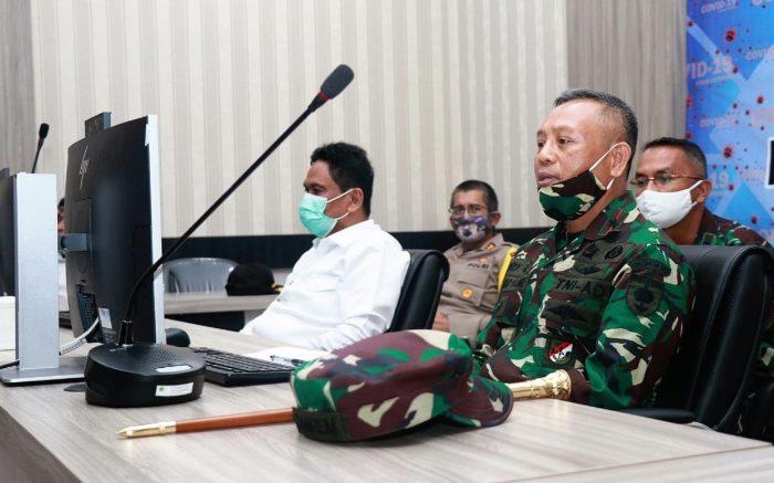 Komandan Korem Puji Kekompakan Forkopimda Barru Tangani Covid-19