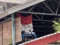 Bendera Merah Putih Bergambar Palu Arit Ditemukan di Unhas