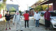 Relawan YGBI Kerjasama INI Gowa Lakukan Penyemprotan Disinfektan