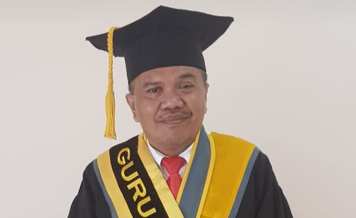 Prof Arifuddin Mas'ud Dekan FEB Universitas Haluoleo Kendari periode 2020-2024