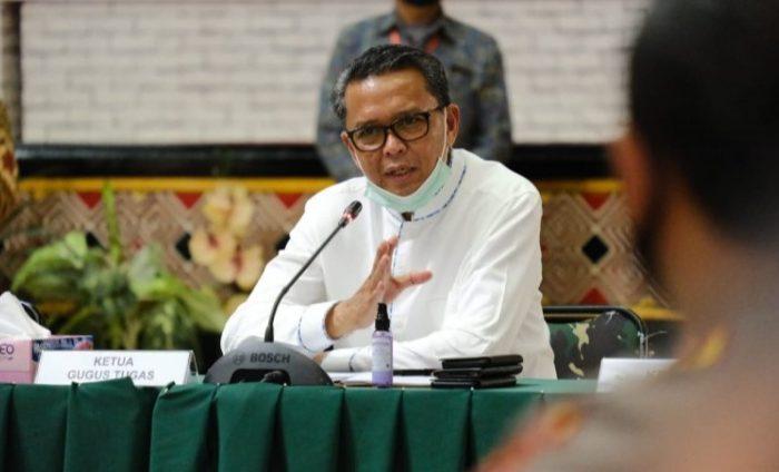 Gubernur Sulsel Prof HM Nurdin Abdullah