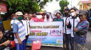 Hari Kebangkitan Nasional, JOIN Bulukumba Pilih Bagi-bagi Nasi Kotak