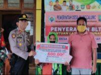144 KK Terima BLT di Desa Manggalung Kecamatan Mandalle Pangkep