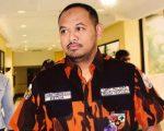 Ketua Pemuda Pancasila (PP) Kabupaten Luwu, Ahmad Syarifuddin Daud alias Ome.