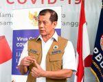 Gugus Tugas Percepatan Penanganan COVID-19 dan Ketua BNPB Doni Monardo. ANTARA/Nova Wahyudi
