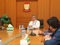 Yusran Yusuf Terima Kunjungan DPRD Sulsel Terkait Persiapan New Normal
