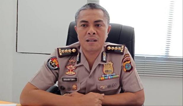 Kabid Humas Polda Sulawesi Selatan, Kombes Pol, Ibrahim Tompo.