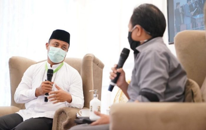 Wagub Sulsel-KPID Bahas Jaring Pengaman Sosial di Tengah Pandemi Covid-19