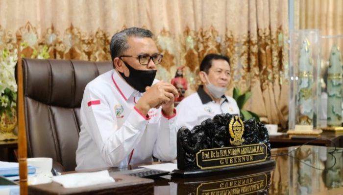 Gubernur Sulawesi Selatan, Prof Nurdin Abdullah.