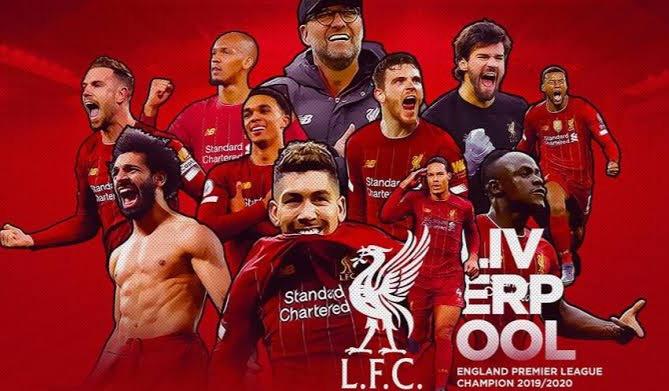 Rekor yang Dicetak Liverpool Usai Juara Liga Inggris.