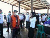 Pemkot Makassar gelar rapid test di tempat pelelangan ikan (TPI) Paotere.