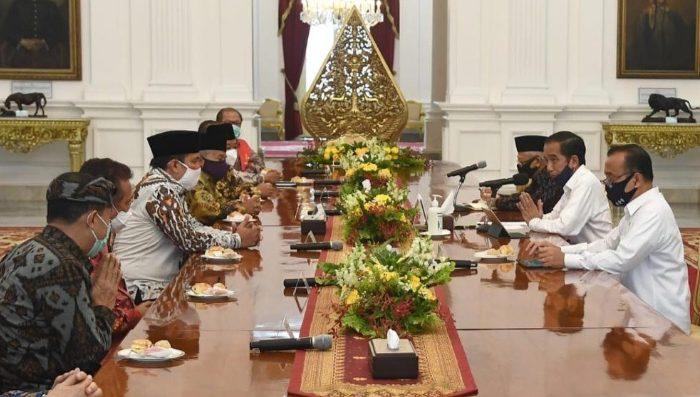 Jokowi Bahas Penanganan Covid-19 dan New Normal Bersama Tokoh Lintas Agama