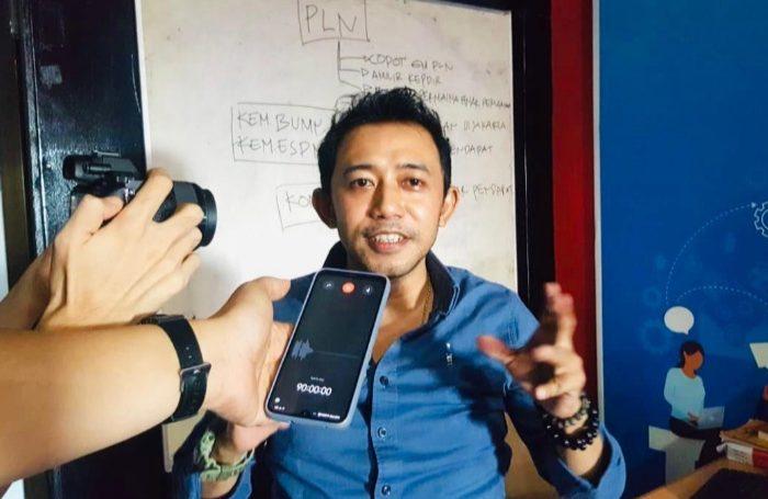 Juru Bicara Perkumpulan Kontraktor Listrik Sulawesi, Aiman Adnan.