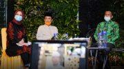 Nurdin Abdullah Halalbihalal Virtual Bersama Alumni Jepang