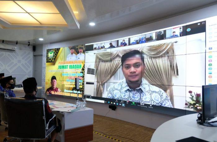 Pencerahan Qalbu Jumat Ibadah Pemkab Gowa Dilaksanakan Secara Virtual