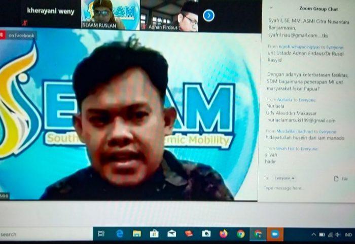 SEAAM Bersama STIE Amkop Makassar Sukses Gelar ICEE 2020 Secara Virtual