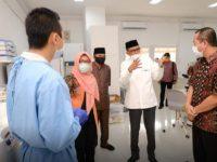 Gubernur Sulsel Bahas Kolaborasi Pengelolaan Pandemi Covid-19 Bersama FKM Unhas