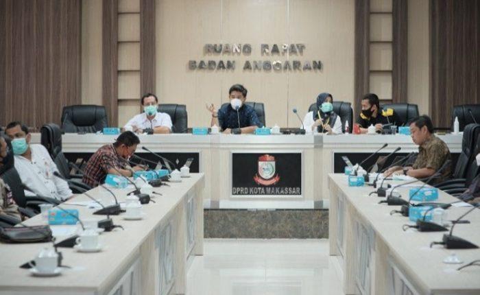 Banggar DPRD Makassar Gelar Rapat Bersama Tim Gugus Tugas Covid-19