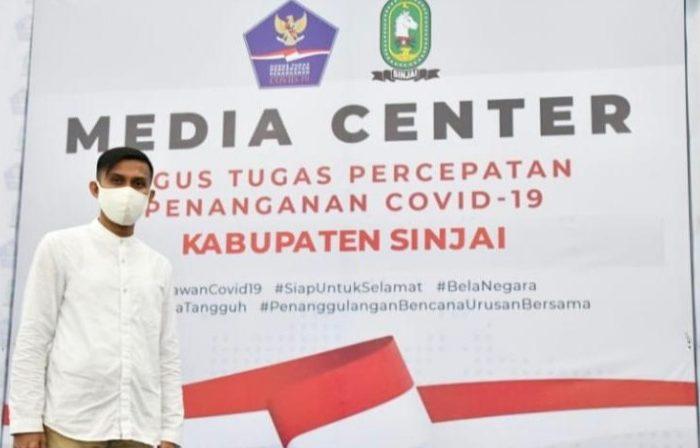 Petinggi organisasi underbow Partai Gerindra, Tunas Indonesia Raya (Tidar) Sulsel, Muhammad Awaluddin Mangantarang.