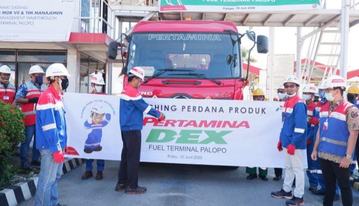 Fuel Terminal Palopo Lakukan Penyaluran Perdana Produk Pertamina Dex