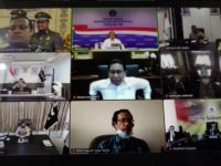 Vicon dengan Presiden, Wagub Sulsel: Kita Fokus Tekan Penyebaran Sembari Sosialisasi