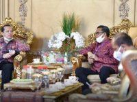 Silaturahmi Perdana ke Gubernur Sulsel, Kakanwil Harun Sulianto Siap Bersinergi