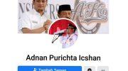Akun Facebook Adnan Purichta Dipalsukan