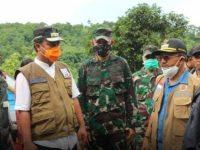 Didampingi Bupati Jeneponto, Wagub Sulsel Tinjau Lokasi Longsor di Desa Kassi