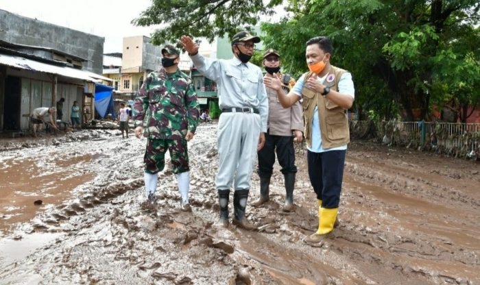 Ilham Azikin Paparkan Dampak Banjir Bantaeng ke Gubernur Sulsel