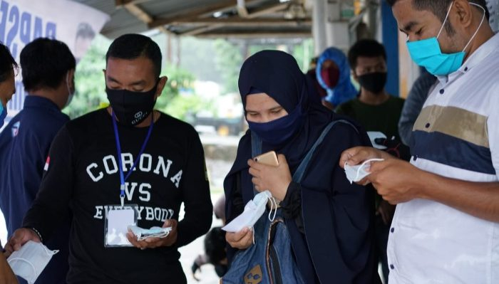 Biaya Mahal, Rapsel Ali Gelar Rapid Test Gratis Bagi Calon Penumpang Fery