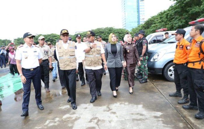 Antisipasi Banjir Pemkot Makassar Apel Siaga Bencana
