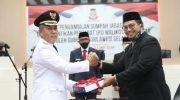 Pelantikan Yusran Yusuf sebagai Pj Wali Kota Makassar.
