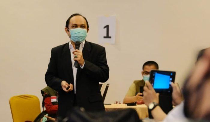 Pakar Epidemologi dari Fakultas Kesehatan Unhas, Prof Ridwan Amiruddin