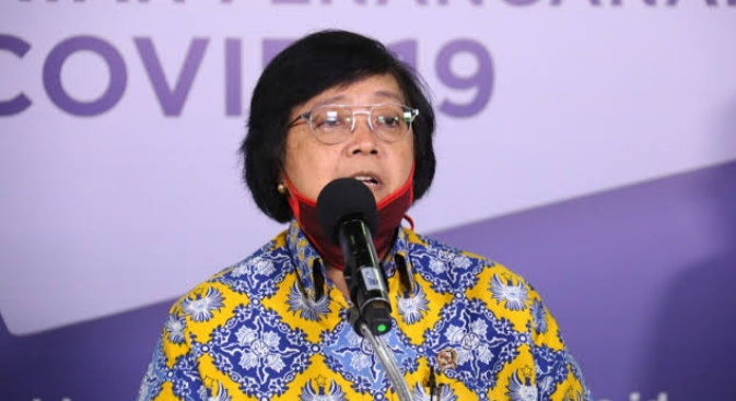 Menteri LHK Siti Nurbaya.