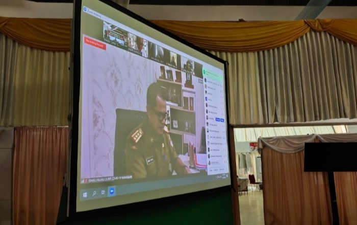 Gugus Tugas Covid-19 Sulsel Gelar Video Conference Update Penanganan Corona